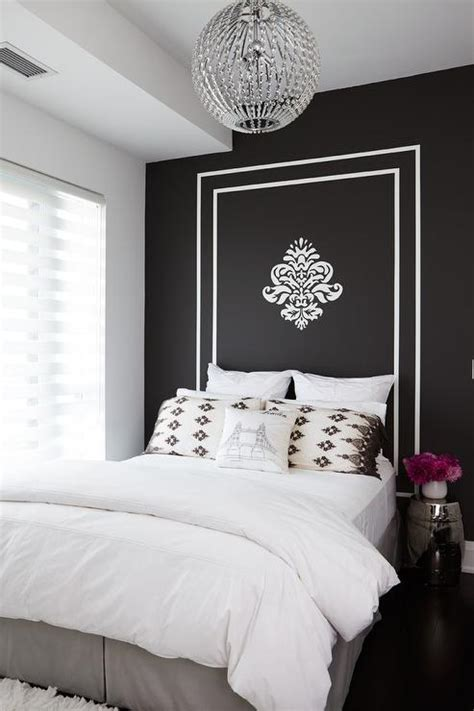 white painted headboard peacock mirror with dresser transitional entrance foyer