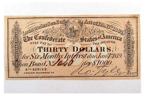civil war bond coupons