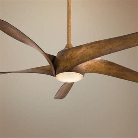 ceiling fan that looks like airplane propeller 62 quot artemis xl5 distressed koa ceiling fan