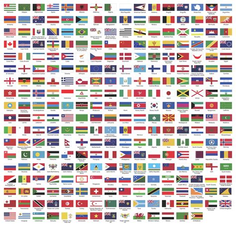 Flags Of The World Download Png | world flags vector