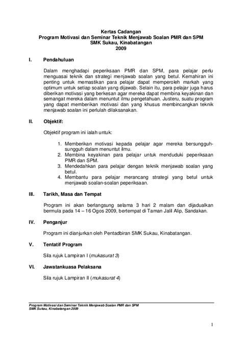kertas cadangan seminar