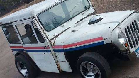 mail jeep custom haulin mail 1971 jeep dj custom