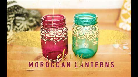 bohemian room decor diy moroccan lanterns youtube