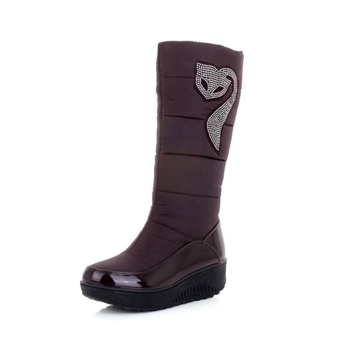 warm winter boots for aisimi new winter russia keep warm snow boots cotton shoes