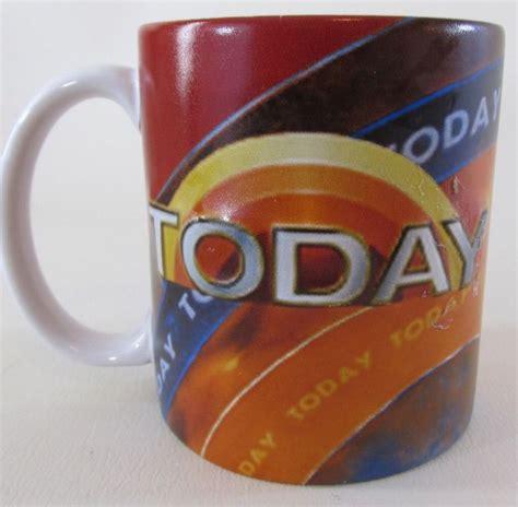 Mug Bandai today show nbc coffee mug cup raised 3d cup bandai