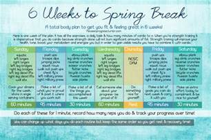 workout plan for at home 6 weeks to spring break at home workout plan pieces