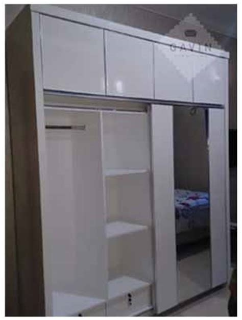 gambar lemari baju yang dapat disesuaikan dengan ruangan kitchen set bsd