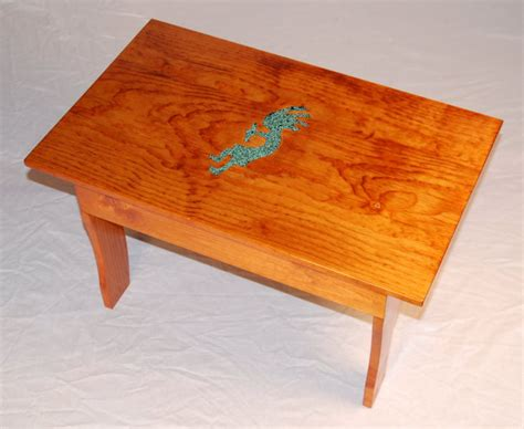 Inlay Furniture by Turquoise Inlay Benches Mcnitt Bros Wood Works Tucson