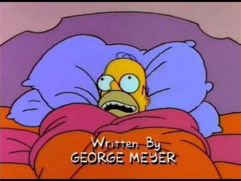 homer in bed homer in bed and needs a pee youtube