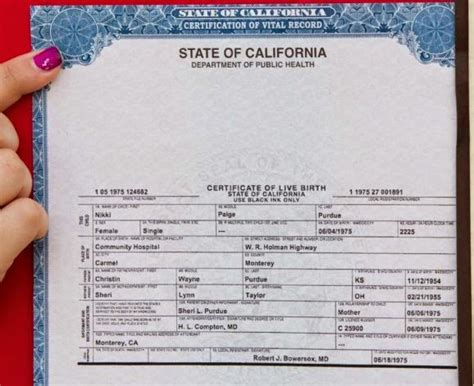 Orange County California Vital Records Birth Certificate Get Vital Record Birth Certificate Birth Certificate California Birth