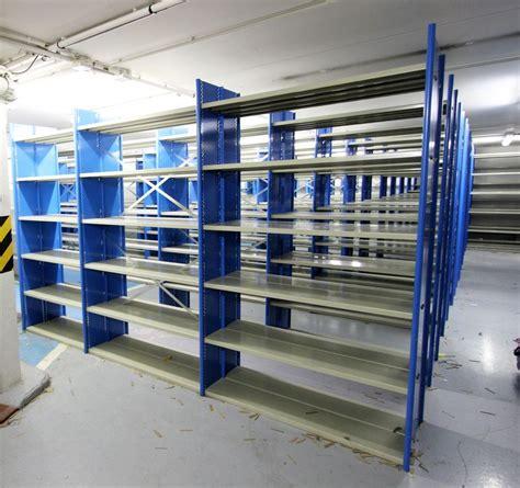 etagere 100 cm module detagere metallique gris et bleu turquoise