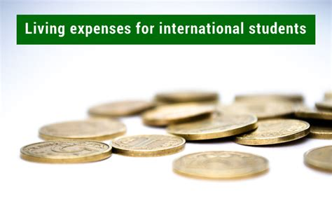 Living Expenses For Ucla Mba Student by Cost Of Living For International Students Check Here