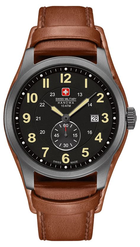 Swiss Army Leather Darkbrownbest Seller 9 most popular best selling swiss hanowa watches 163 200 for the
