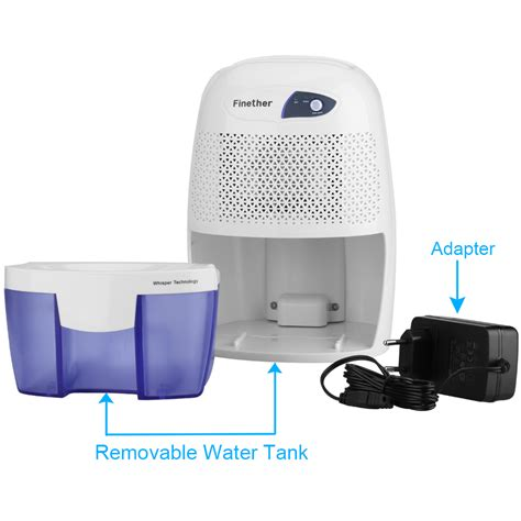 Dehumidifier For Bathroom Moisture Finether Electric 500ml Air Dehumidifier Dryer Moisture