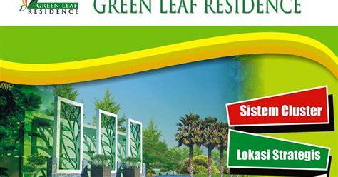 jasa desain grafis brosur logo foto gambar desain billboard green leaf residence