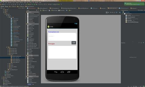 android studio button change layout where is this quot overflow menu button quot in android studio