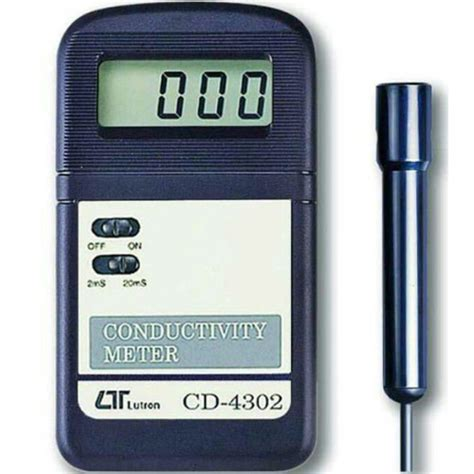 Multimeter Digital Ukuran Saku lutron cd 4302 pocket conductivity meter meter digital