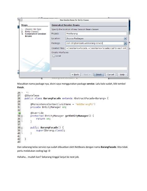 membuat web service sederhana dengan java membuat aplikasi java web enterprise sederhana