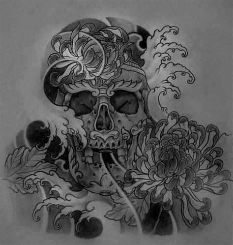 half sleeve nice tibetan skull tibetan skull halfsleeve design by terokiiskinen on