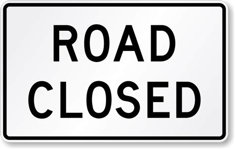 printable road closed signs road closed traffic sign r11 2 sku x r11 2