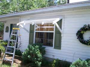 Diy Awning Yawning Your Awning Diy Awnings On The Cheap Home