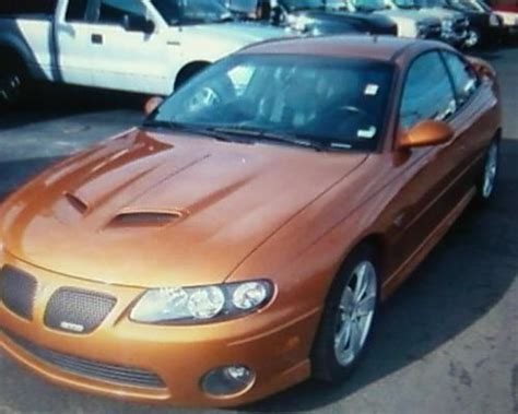 auto body repair training 2006 pontiac gto seat position control buy used 2006 pontiac gto brazin orange in rock falls illinois united states for us 20 500 00
