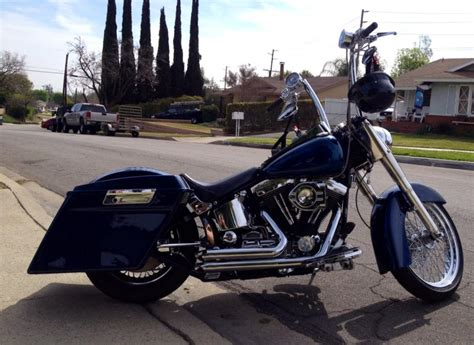 Custom Harley Davidsons For Sale by Custom Softail Bagger For Sale Or Trade Harley Davidson