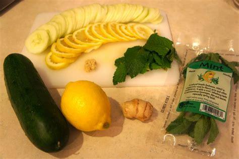Lemon Lime Cucumber Mint Detox Water Recipe by Lemon And Cucumber Water Recipe Patty S Of Youth