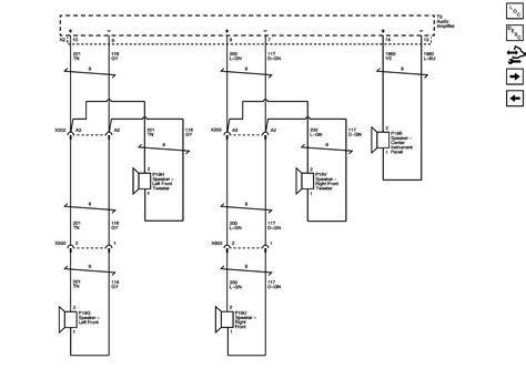 wiring diagram for cadillac srx bose speakers