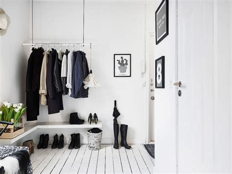 garderobe skandinavisch sitzbank im flur modern gestalten skandinavischer wohnstil