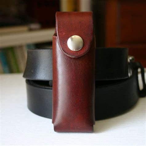 pocket knife holder for belt brown leather pocket knife holder for belt