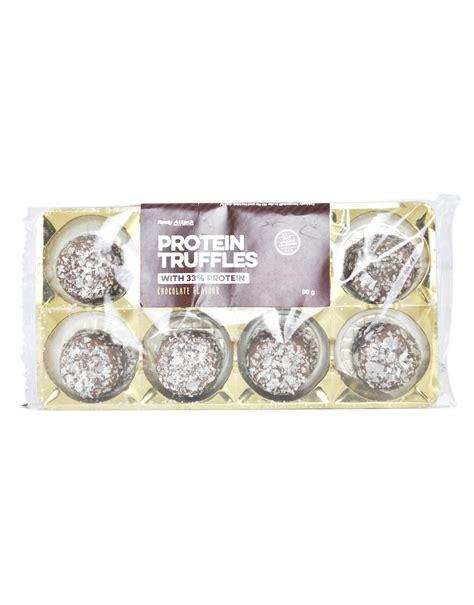grammi proteine alimenti protein truffles dolcetti proteici di attack 80