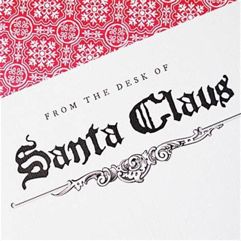 from the desk of santa claus from the desk of santa claus letterhead santa claus