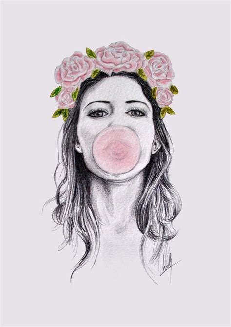 Flower Crown A3 19 best images about flower crown drawing on