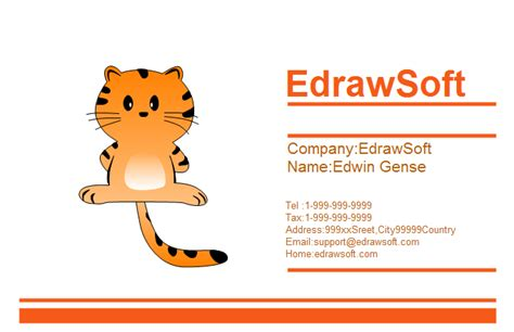 stuffed animal name card template free business card templates animal style