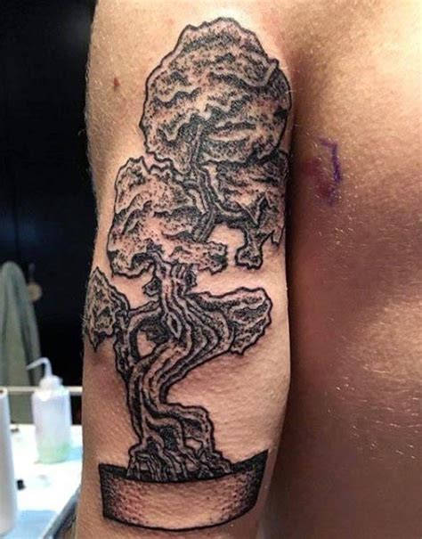 bonsai tree tattoo 60 bonsai tree designs for zen ink ideas