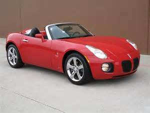 find used 07 pontiac solstice gxp convertible 2 0l turbo 5
