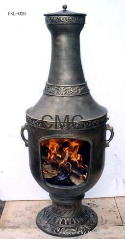 Chiminea Suppliers Cmc Cast Iron Chiminea And Steel Basket Fsl025