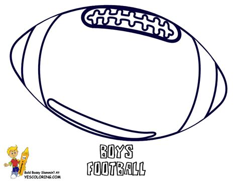 Red Blooded Football Print Outs Sports Football Free Printable Football Coloring Pages