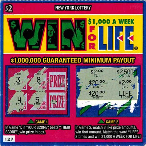 Win Money A Week For Life - win for life winning ticket bing images