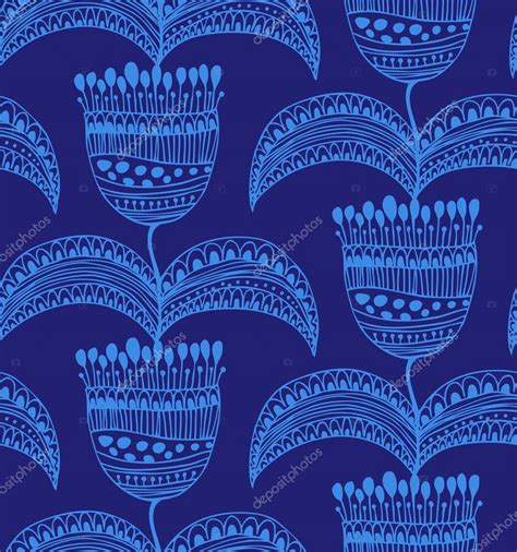 Vorlagen Orientalische Muster Blaue Sch 246 Ne Nahtlose Muster Orientalische Blumen Hintergrund Dekorative Wundersch 246 Ne Vorlage
