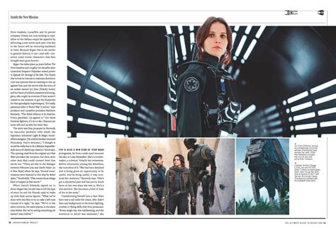 entertainment weekly the ultimate guide to wars updated revised inside the last jedi books spoiler este es el recorrido que realiza la estrella de