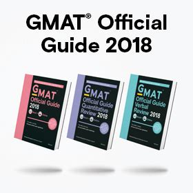Official Mba Guide Uk by Introducing The Gmat 174 Official Guide 2018 From The Makers