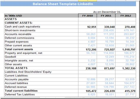 cash flow statement exle images