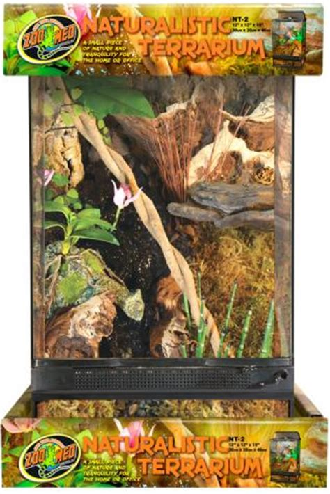 Zoo Med L by Zoo Med Medium Naturalistic Terrarium