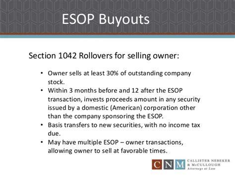 Employee Stock Onwership Plan Esop Buyouts