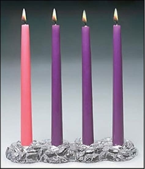 Handmade Advent Wreath - handmade advent wreath with candles