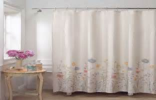 flower fields fabric shower curtain designer shower