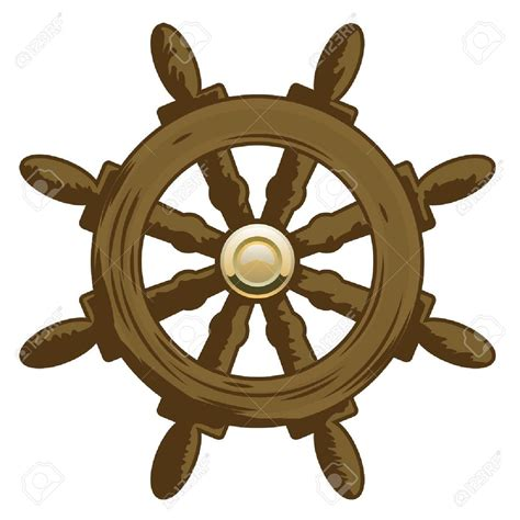 boat wheel sailboat clipart ship steering wheel pencil and in color