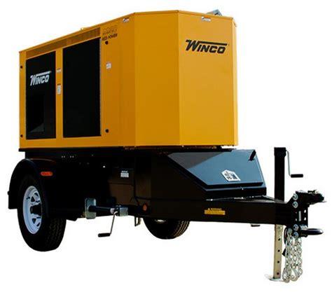generator 65kw mobile diesel rp80 redipower toboa energy